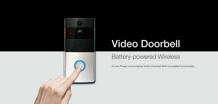 Low power consumption wifi doorbell VD-17W