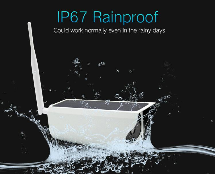 Battery Powered WIFI IP camera IPC-A3B IP67 rainproof