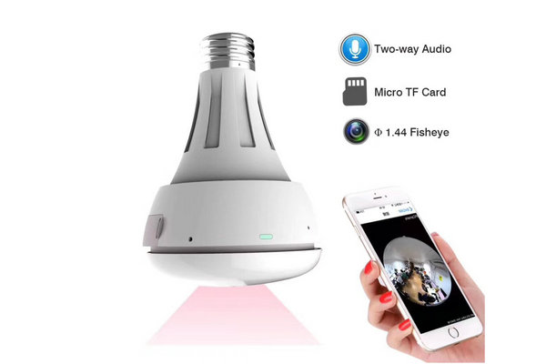 BULB-VR202 Wireless VR ip camera 360 degree Panoramic view