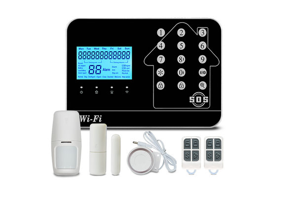 ALP-JT-99CSF GSM PSTN WIFI three in one alarm system