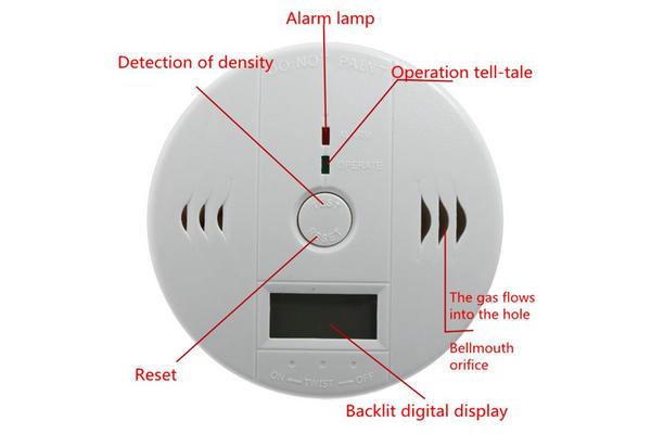 lndependent CO Leak Sensor AWD-968D--Joney CCTV Camera