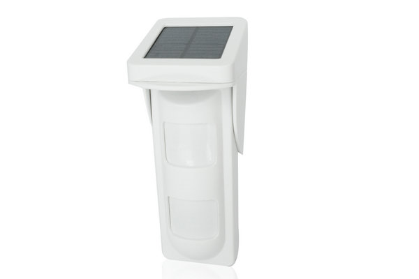 AWL-828WF wireless outdoor solar power dual-tech pir detector