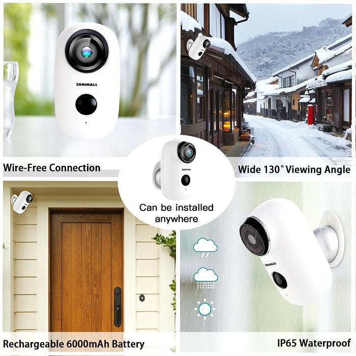 Mini Battery Powered WIFI IP camera IPC-06BW Installation Environment