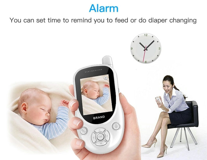 HD screen baby monitor Camera JY-BM01 Alarm