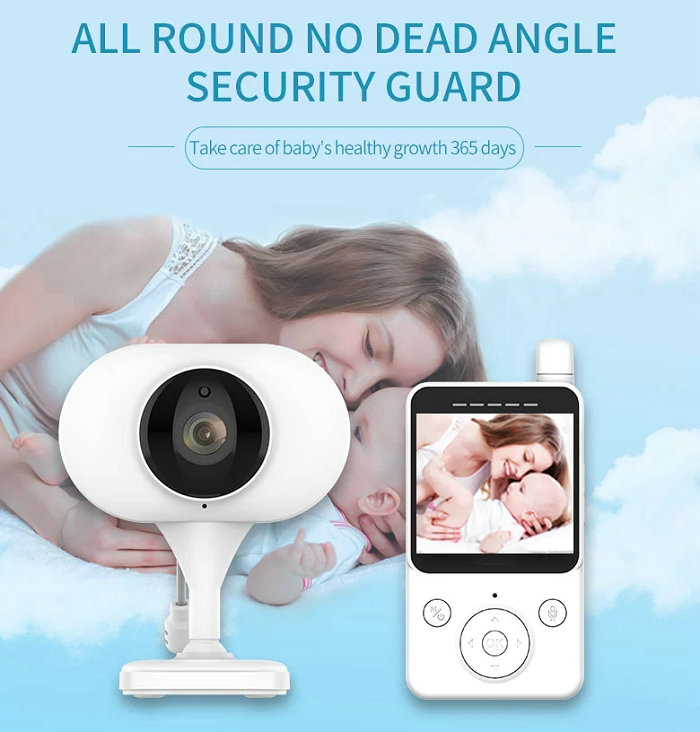 HD screen baby monitor Camera JY-BM02 All Round No Dead Angle Security Guard