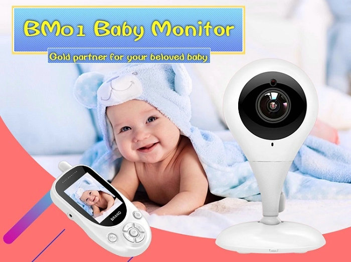 HD screen baby monitor Camera JY-BM01