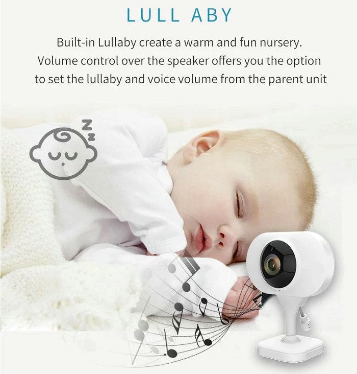 HD screen baby monitor Camera JY-BM02 Lull aby
