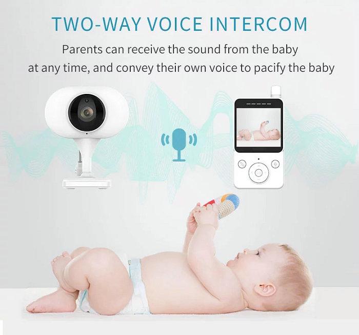 HD screen baby monitor Camera JY-BM02 Two-way Voice Intercom