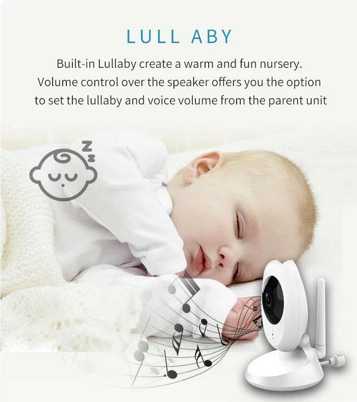 HD screen baby monitor Camera JY-BM04 Lull aby