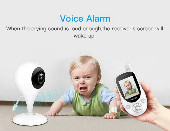 HD screen baby monitor Camera JY-BM01 Voice Alarm