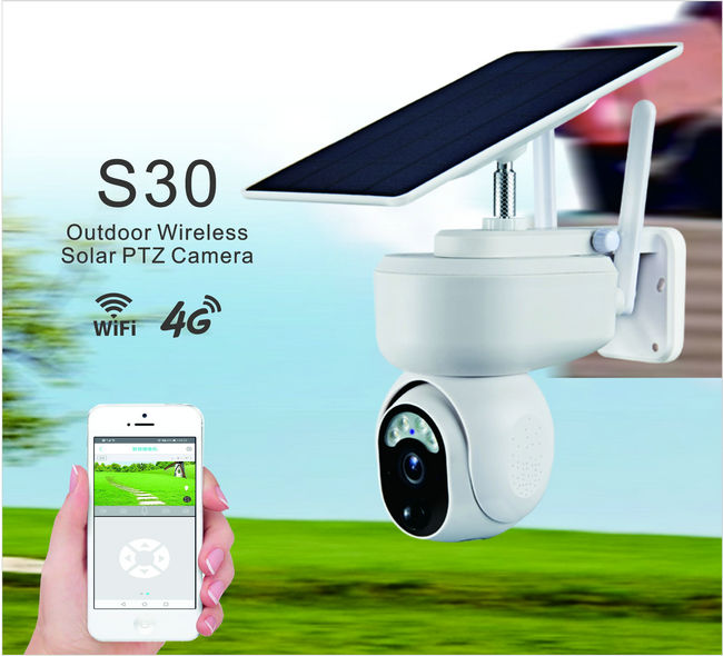 S30-4G UBox mini solar ptz camera